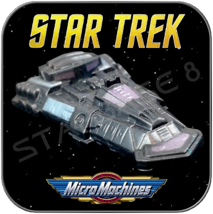 NUMIRI PATROL SHIP - STAR TREK MICRO MACHINES