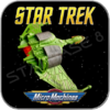 KLINGON BIRD OF PREY - K'VORT CLASS - STAR TREK MICRO MACHINES