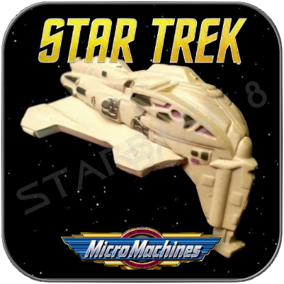 KAZON RAIDER - STAR TREK MICRO MACHINES