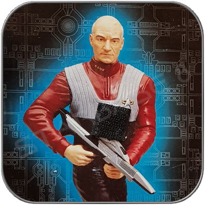 Captain JEAN-LUC PICARD - FIRST CONTACT (schwere Keramik Statue von Playmates)