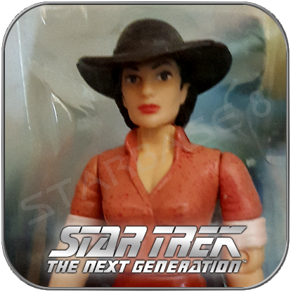 DURANGO DEANNA TROI - STAR TREK PLAYMATES ACTION FIGUR