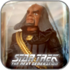 KLINGON GOVERNOR WORF - STAR TREK PLAYMATES ACTION FIGUR