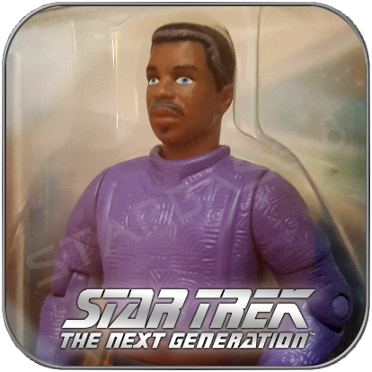 GEORDI LA FORGE RETIRED - STAR TREK PLAYMATES ACTION FIGUR