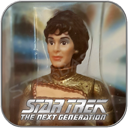 LWAXANA TROI - STAR TREK PLAYMATES ACTION FIGUR