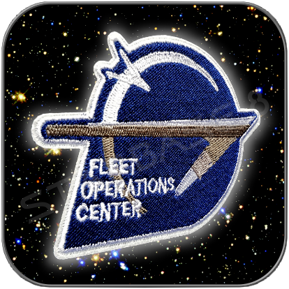 FLEET OPERATIONS CENTER STAR TREK ENTERPRISE UNIFORM AUFNÄHER PATCH