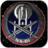 TERRAN EMPIRE MIRROR NX-01 UNIFORM PATCH PREMIUM AUFNÄHER