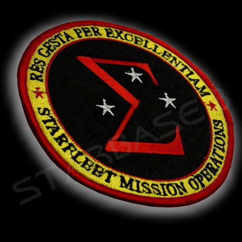 STARFLEET MISSION OPERATIONS (UNIFORM-AUFNÄHER/PATCH)