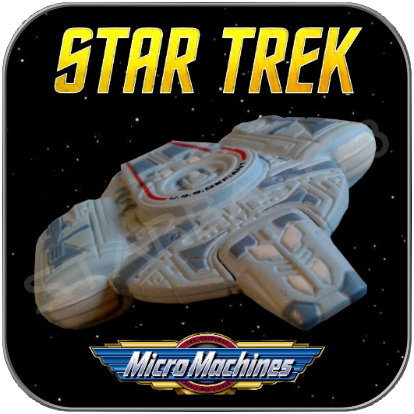USS DEFIANT NX-74205 - STAR TREK MICRO MACHINES
