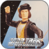Q PIRAT - STAR TREK PLAYMATES ACTION FIGUR