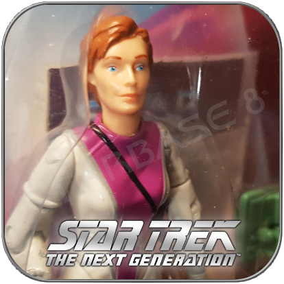 CADET BEVERLY HOWARD CRUSHER - STAR TREK PLAYMATES ACTION FIGUR