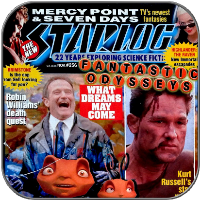 STARLOG MAGAZINE #256 - Antiquarisches US Magazin
