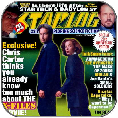 STARLOG MAGAZINE #252 - Antiquarisches US Magazin
