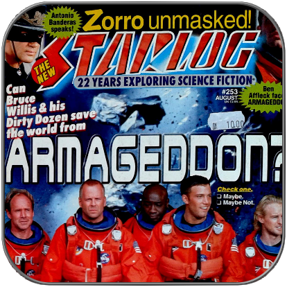 STARLOG MAGAZINE #253 - Antiquarisches US Magazin