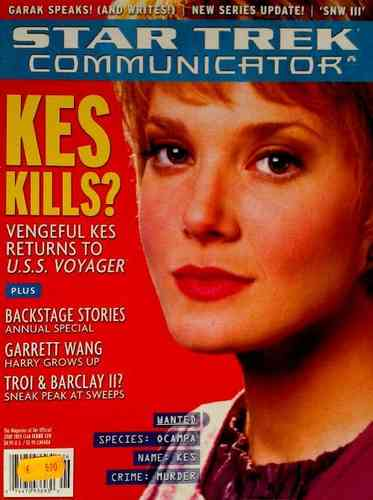 STAR TREK COMMUNICATOR 128 (Fan-Club Magazin in Englisch)