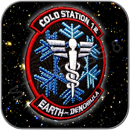 COLD STATION 12 / EARTH - DENOBULA UNIFORM AUFNÄHER PATCH