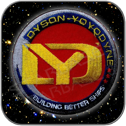DYSON YOYODYNE CORPORATION UNIFORM AUFNÄHER