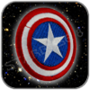 CAPTAIN AMERICA SHIELD AUFNÄHER