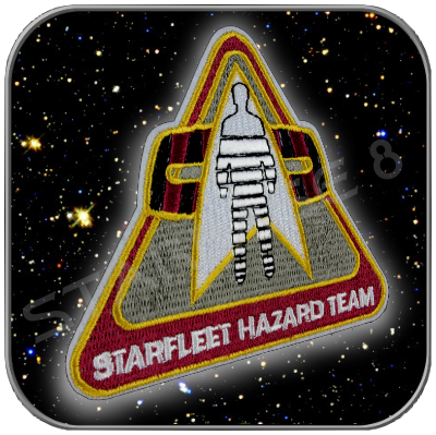 STARFLEET HAZARD TEAM UNIFORM PATCH