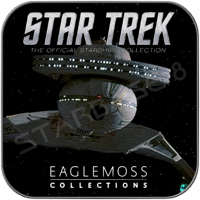 KLINGON BATTLE CRUISER (EAGLEMOSS STAR TREK MODELL OHNE MAGAZIN)