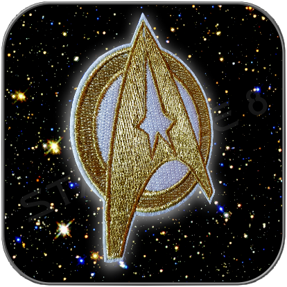 STARFLEET COMMAND INSIGNIA BADGE AUFNÄHER PATCH