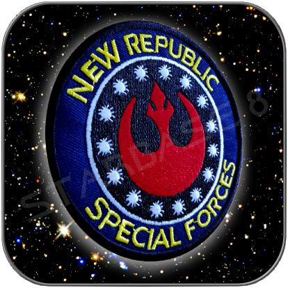 NEW REPUBLIC SPECIAL FORCES UNIFORM AUFNÄHER PATCH