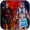 ANAKIN & 501st LEGION TROOPER - STAR WARS ACTION FIGUR SET