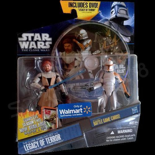 LEGACY OF TERROR SET (Hasbro Action Figuren 2-Pack)