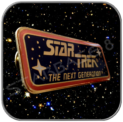 STAR TREK - THE NEXT GENERATION PIN PLAKETTE