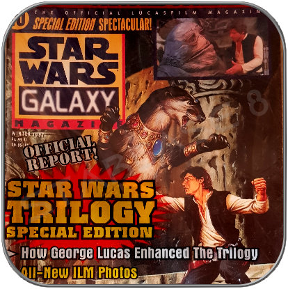 TOPPS STAR WARS GALAXY MAGAZIN SPECIAL ISSUE 10