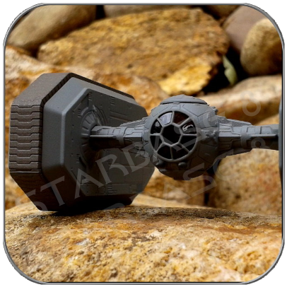 IMPERIAL TIE-CRAWLER (F-TOYS Miniatur Modell)