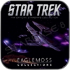 JEM'HADAR BATTLE CRUISER (EAGLEMOSS STAR TREK MODELL OHNE MAGAZIN)
