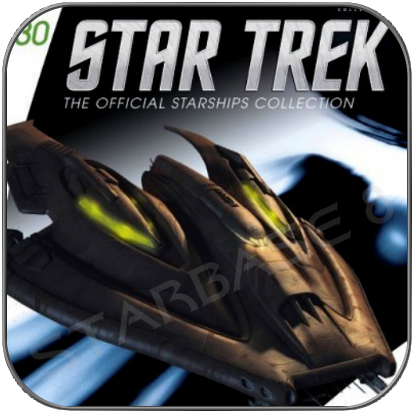 NAUSICAAN FIGHTER (EAGLEMOSS STAR TREK STARSHIP COLLECTION 30)