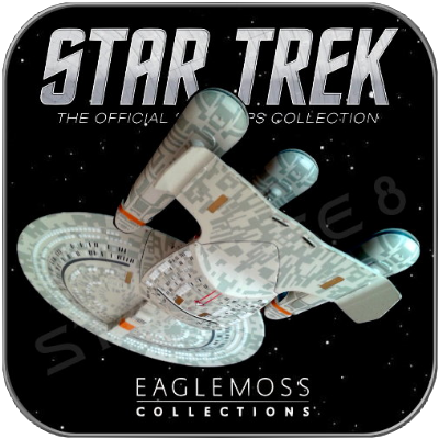 FUTURE ENTERPRISE NCC-1701-D (EAGLEMOSS ASIATISCHE VERSION)