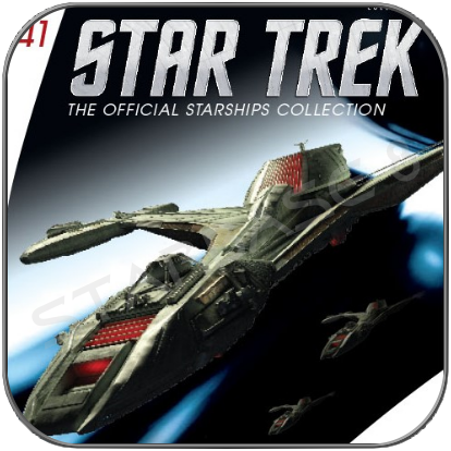 KLINGON RAPTOR (EAGLEMOSS STAR TREK STARSHIP COLLECTION 41)
