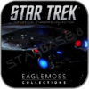 USS ENTERPRISE 1701-C (EAGLEMOSS STAR TREK MODELL OHNE MAGAZIN)