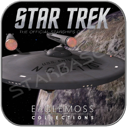 USS ENTERPRISE 1701 (EAGLEMOSS STAR TREK MODELL OHNE MAGAZIN)