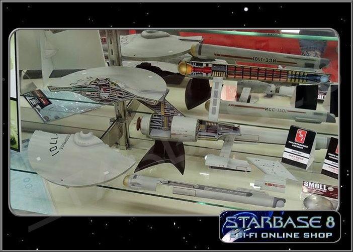 u s s enterprise cutaway amt modell bausatz