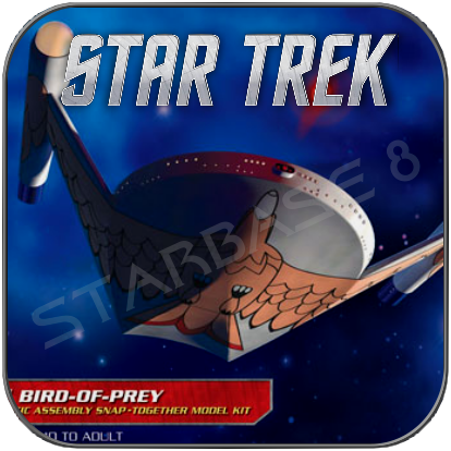 ROMULAN BIRD OF PREY (1/1000 POLAR LIGHTS BAUSATZ)