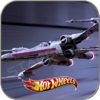 X-WING FIGHTER RED 5 - STAR WARS HOT WHEELS METALL MODELL