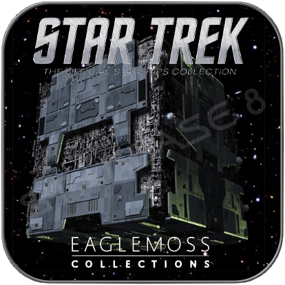 TACTICAL BORG CUBE (EAGLEMOSS STAR TREK MODELL OHNE MAGAZIN)