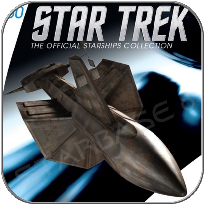 SS BOTANY BAY - DY-100 CLASS (EAGLEMOSS STAR TREK STARSHIP COLLECTION 60)