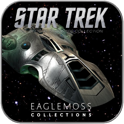 VOTH RESEARCH VESSEL (EAGLEMOSS STAR TREK MODELL OHNE MAGAZIN)