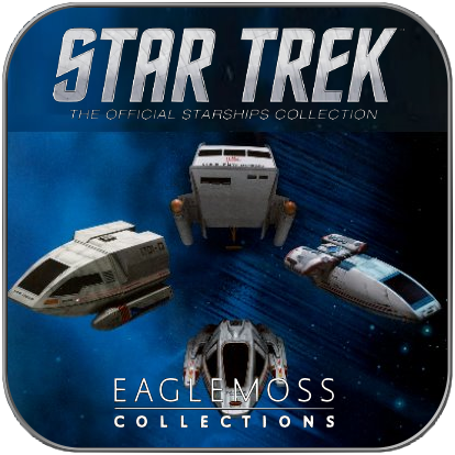SHUTTLE SPECIAL SET 1 (EAGLEMOSS STAR TREK STARSHIP COLLECTION)