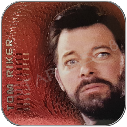 F5 TOM RIKER DOPPLEGANGER - SONDERKARTE STAR TREK REFLECTIONS