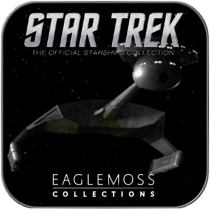 KLINGON D7 BATTLE CRUISER (EAGLEMOSS STAR TREK MODELL OHNE MAGAZIN)