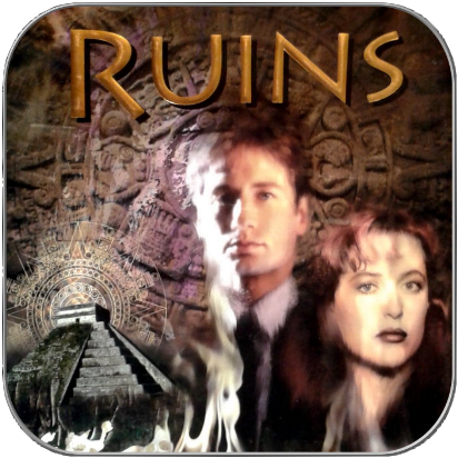 RUINS - X-FILES ROMAN/NOVEL - HARDCOVER