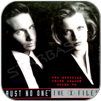 TRUST NO ONE - X-FILES THIRD SEASON GUIDE