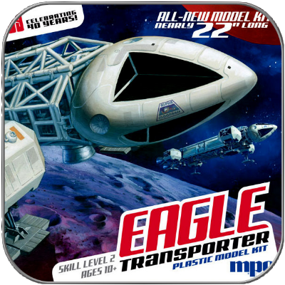 "22"" EAGLE TRANSPORTER - 56cm MPC SPACE 1999 MODELL BAUSATZ"