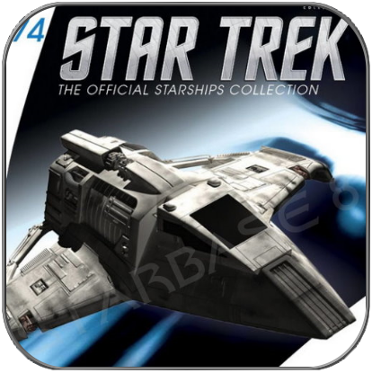 BAJORAN RAIDER (EAGLEMOSS STAR TREK STARSHIP COLLECTION 74)