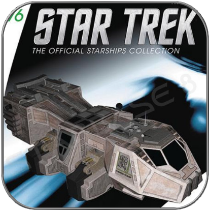 BAXIAL - TALAXIANISCHER FRACHTER (EAGLEMOSS STAR TREK STARSHIP COLLECTION 76)